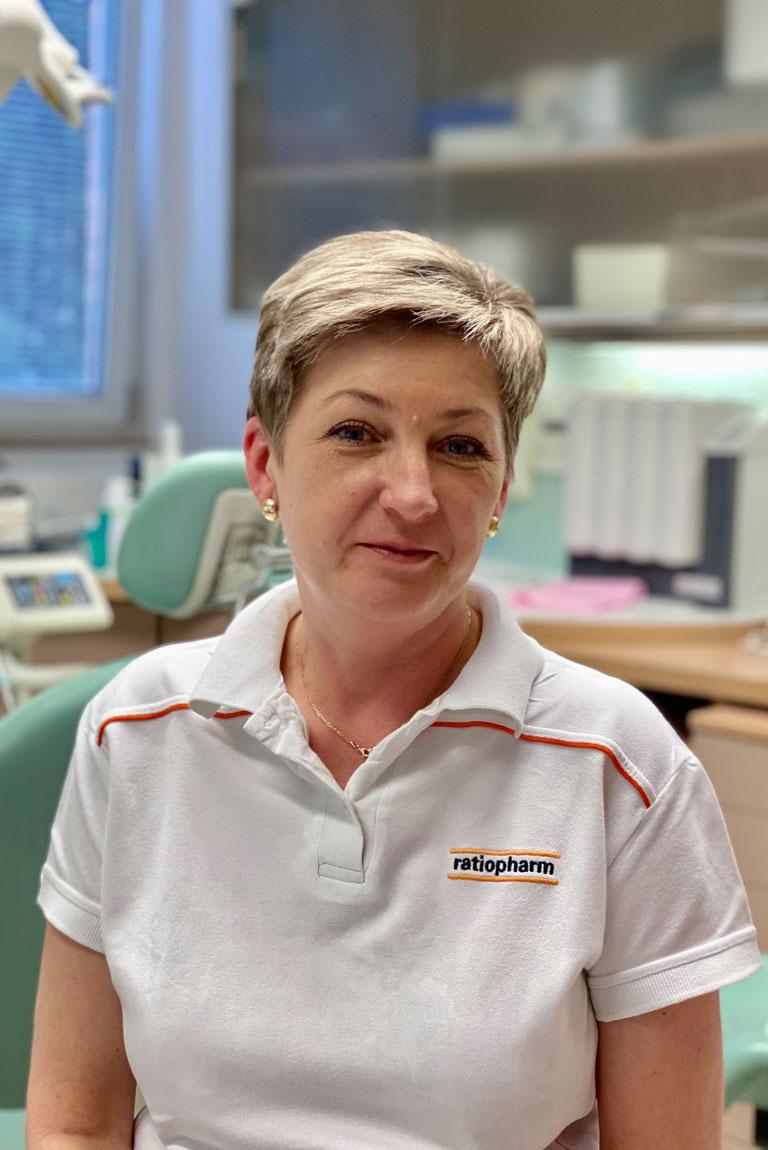 Simona Lysoňková - zdravotní sestra